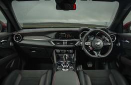Alfa Romeo Stelvio Quadrifoglio, 2020, interior