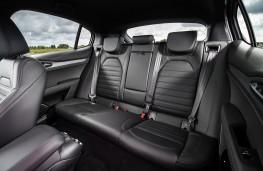 Alfa Romeo Stelvio, 2018, rear seats