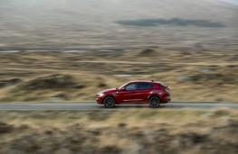 Alfa Romeo Stelvio Quadrifoglio, 2018, side, action