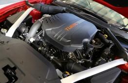 Kia Stinger GT-Line 2.0 T-GDi, engine