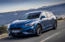 Ford Focus ST, 2019, front, action