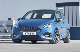 Ford Fiesta ST, 2017, front