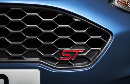 Ford Fiesta ST, 2017, grille