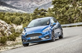 Ford Fiesta ST, 2018, front
