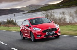 Ford Fiesta ST-Line, 2018, front