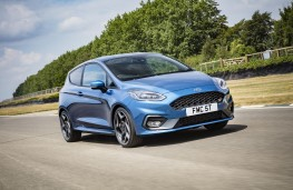 Ford Fiesta ST, 2018, front, action