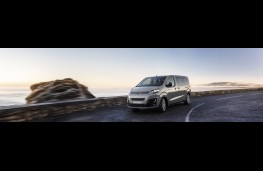 Citroen SpaceTourer Rip Curl, 2018, front, action, wide
