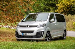 Citroen SpaceTourer, front, static