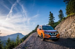 Nissan X-Trail, 2017, front, static