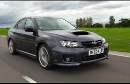 Subaru WRX STI, front, action