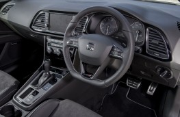 SEAT Leon ST Cupra 300, 2017, interior, DSG