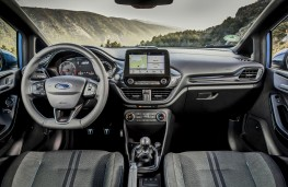 Ford Fiesta ST, 2018, interior