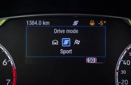 Ford Fiesta ST, 2018, drive mode display