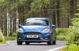 Ford Fiesta ST, 2018, nose