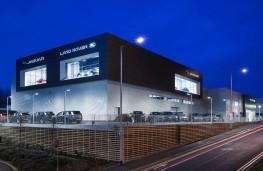 JLR dealership, 2016, Stockport