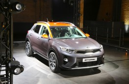 Kia Stonic, 2017, reveal, front, static