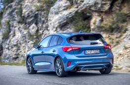 Ford Focus ST, 2019, rear