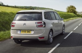 Citroen Grand C4 Space Tourer, 2018, rear, action