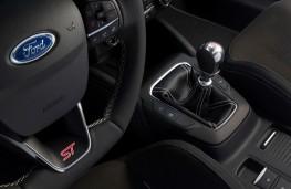 Ford Focus ST, 2019, steering wheel