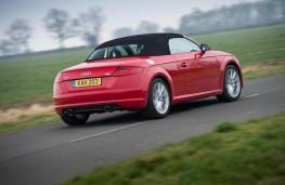 Audi TT Roadster, rear, hood up