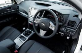 Subaru Legacy Tourer interior