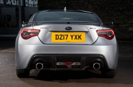 Subaru BRZ, rear full static