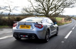 Subaru BRZ, rear action 2