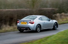 Subaru BRZ, rear action
