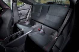 Subaru BRZ, rear seats