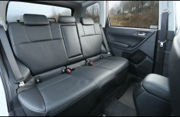 Subaru Forester, rear seat