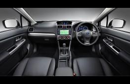 Subaru XV, interior