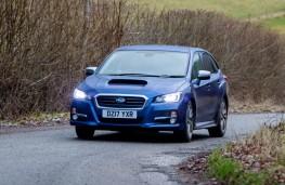 Subaru Levorg, action front