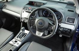 Subaru Levorg, dashboard