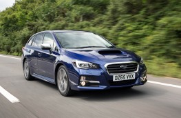 Subaru Levorg, front action