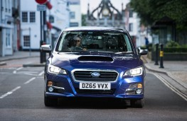 Subaru Levorg, full front action