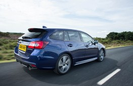 Subaru Levorg, rear action