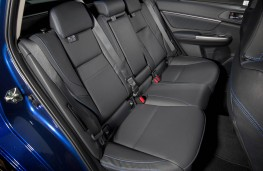 Subaru Levorg, rear seats