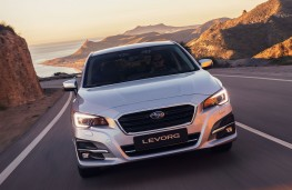 Subaru Levorg 2019 head on