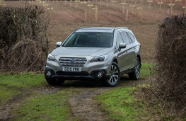 Subaru Outback, front static