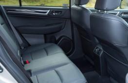 Subaru Outback, rear seats