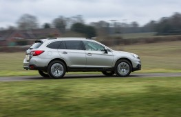 Subaru Outback, side action