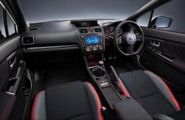 Subaru WRX STI Final Edition cockpit