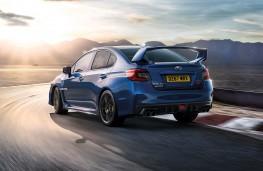 Subaru WRX STI Final Edition rear action