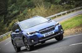 Subaru XV, front action 2