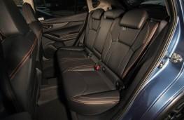 Subaru XV, rear seat