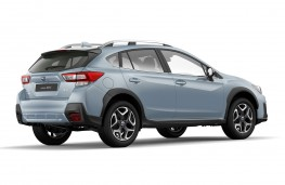 Subaru XV 2017 rear threequarter