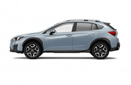 Subaru XV 2017 side profile