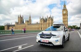 Subaru XV in London