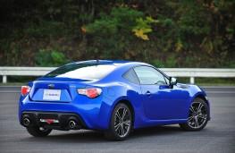 Subaru BRZ, rear