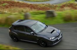 Subaru Impreza Cosworth, action
